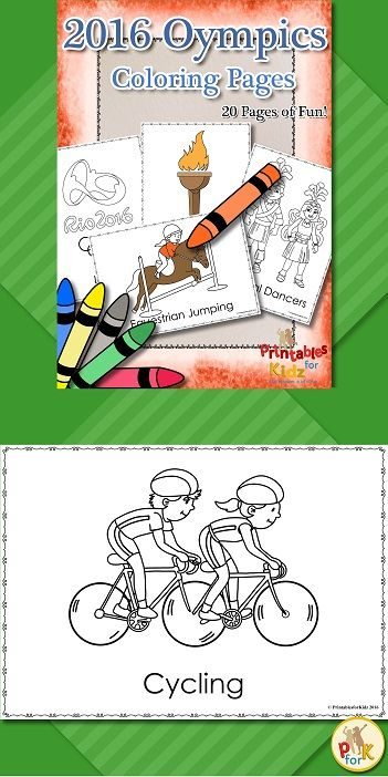 Currently half price! Rio 2016 Summer Olympics Coloring pages. Contains 20 pages of fun! Includes some of the most popular sports as well as items specific to Brazil (e.g Christ the Redeemer Festival)