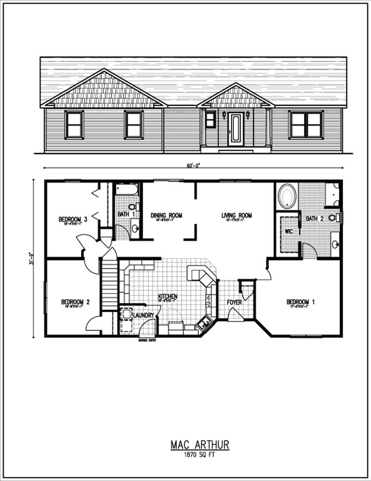 Small Ranch House Floor Plans | Floor Plans