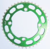 Chop Saw I Chainring 4 Bolt 104 bcd - 41T - GREEN ANODIZED