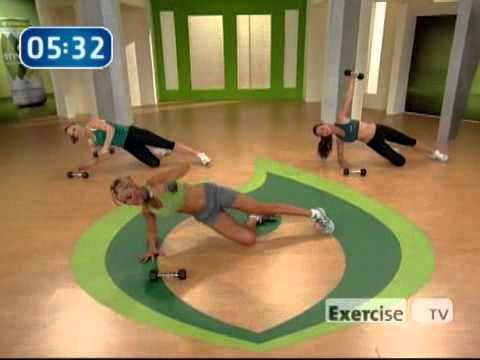 I love this ab workout. Only 12 minutes and even though it's not that hard I am always sore for the next 2 days.