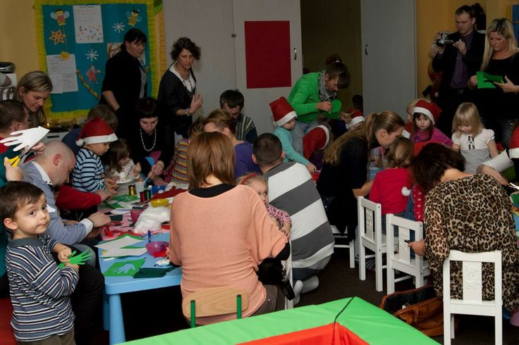 Christmas workshops with parents
