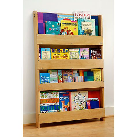 Encourage your child's love of books and get them ready for learning with the Tidy Books Children's Bookcase.