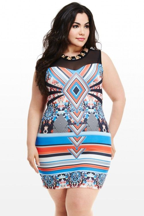 The Plus size clothing is such kind of outfit that can fit well on chunky ladies and give a good look to them.