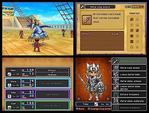 RPG Menu & Dialog