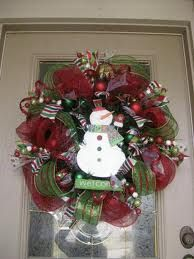 how to make a christmas wreath with ribbon