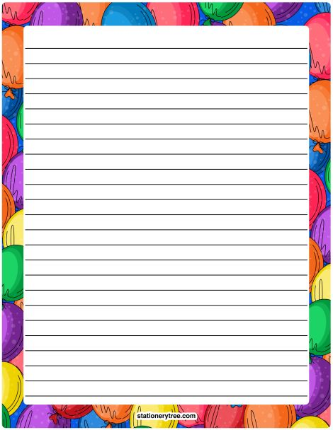 85 best Stationery images on Pinterest Writing paper, Writing - printable writing paper template