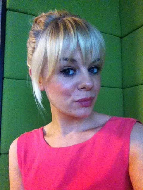 Blonde fringe #fringe #shorthair #blonde