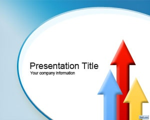 Free Outsource PowerPoint template is a free theme for Microsoft PowerPoint with a light blue background color style and coloured arrows in vertical position that you can download and use for any business presentation template, including corporate finance as well as outsourcing presentations