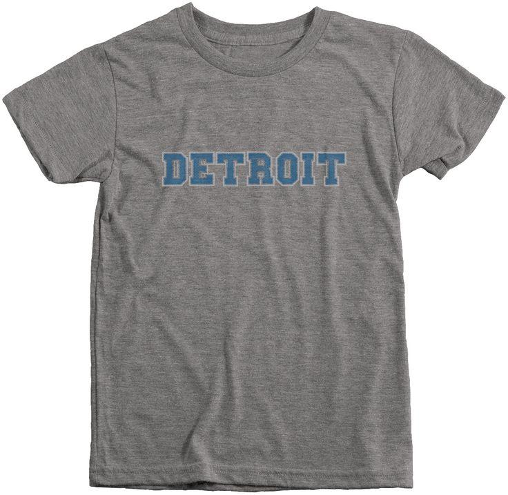 Detroit Football Club Boys Tri-Blend T-Shirt