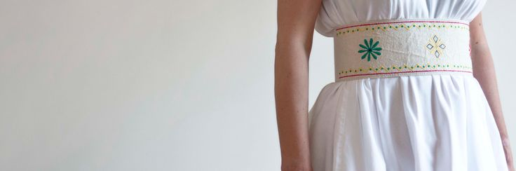 Greek tradition meets fashion...'because our history is the path that leads us to the present and the future'.