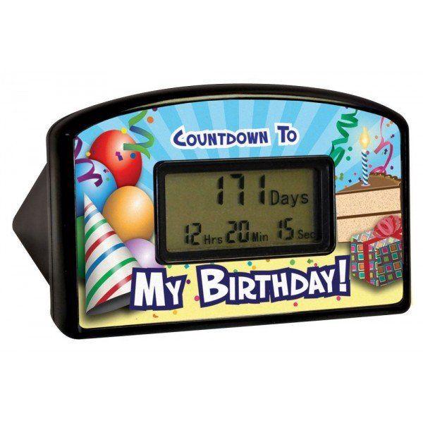 Birthday Countdown Timer #Under-$50 #For-Kids #For-Men