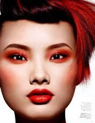 Znalezione obrazy dla zapytania makijaż synchroniczny