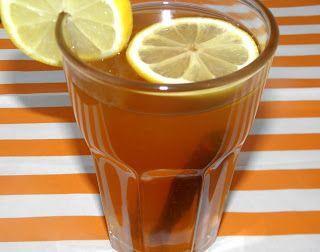 zadanie - gotowanie: Napój imbirowo-cytrynowy z cynamonem.