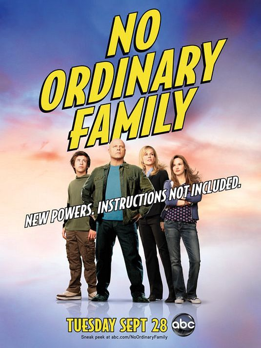 SAnother short lived hero show- stats with the traditional story line family onvacation exposed to a element that gives them supernatural powers