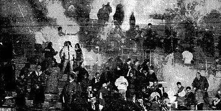 Die Berichterstattung zum Fußballspiel im Dezember 1989.