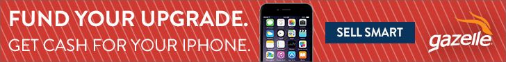 Gazelle's Best Price Guarantee! Get CASH for your iPhone 5s, 6 or 6 PLUS! Exp. Sept. 9th