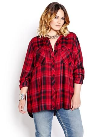 L&L Long Sleeve Plaid Shirt