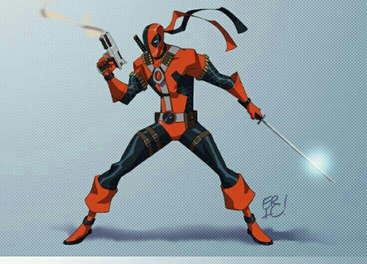 Deadpool/Deathstroke as one