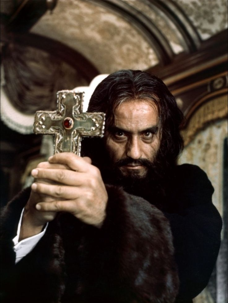 """Where there is God, there is always a place for the cross. Even on this stone floor, just so. But Satan is evil, and where there is evil, there is no place for the cross."" ~ Alberto de Mendoza as Father Pujardov, in ""Horror Express"" (1972)"