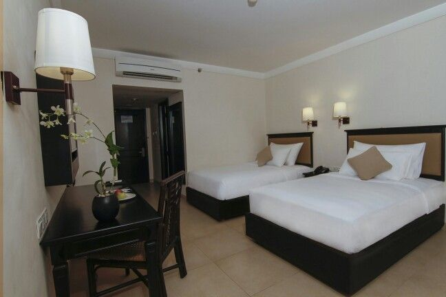 Deluxe Room with Twin Share Bed Grand Luley Resort Manado