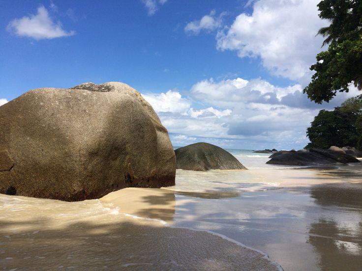 Seychellen Strand Mahé (Inselstaat im Indischen Ozean)