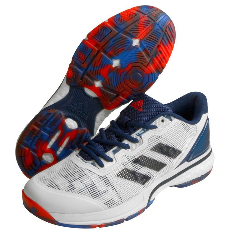 adidas Stabil Boost 20Y Men's Badminton Shoes Indoor Sport Racquet NWT BB1814 #adidas #BadmintonShoes