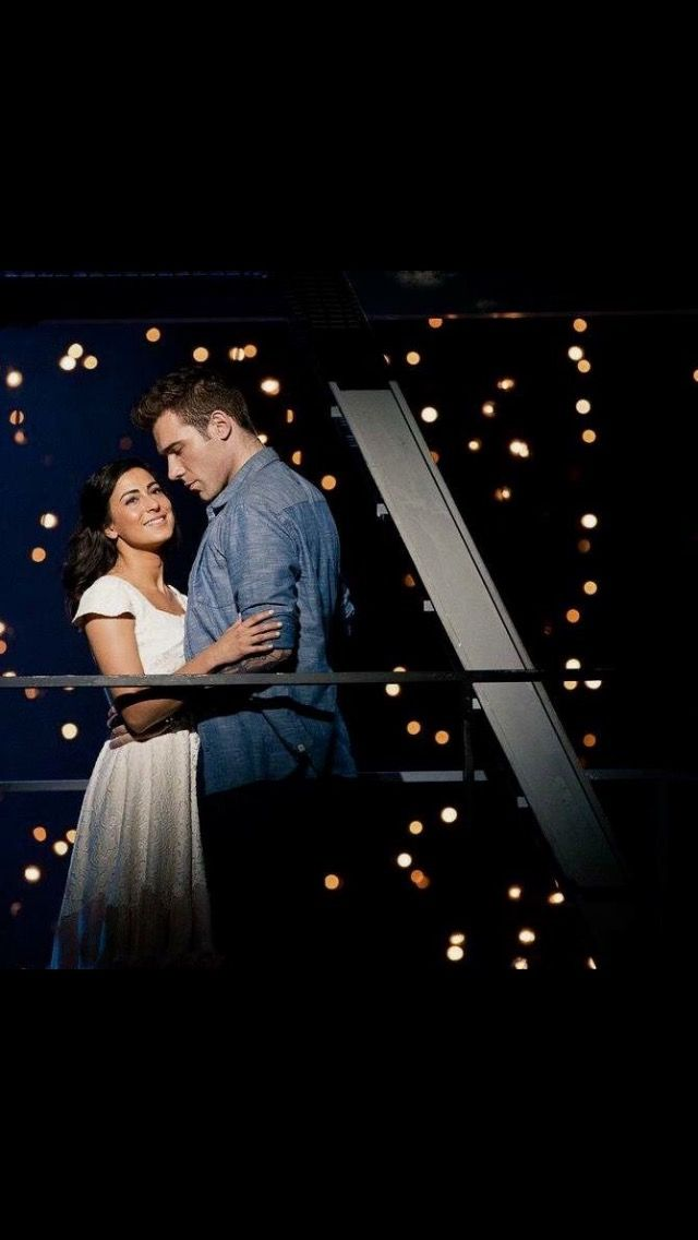 Filipa van Eck as Maria (West Side Story) for Cape Town Opera with Jonathan Roxmouth as Tony