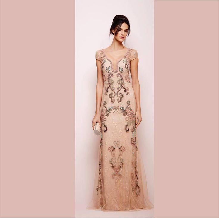 57 best Vestidos images on Pinterest   Party dresses, Formal dresses ...