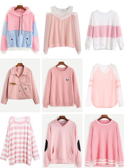 Kawaii Fashion | Pastel Fashion | Pastel Sweater | Pastel Jacket | Pink Sweater | Pink Jacket | Winter Fashion | Cute Clothing | Street Fashion | Japanese Fashion | Jfashion | Korean Fashion | Kfashion