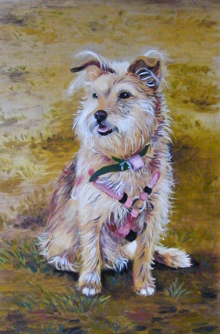 Portrait of Sabinka - oil painting