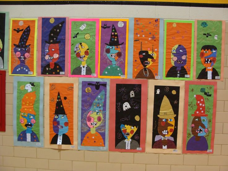 "picasso lesson plans for elementary school | 2nd Grade ""Picasso Monsters"", modified from a lesson in Arts ..."