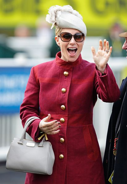 Zara Phillips attends day 3 'Grand National Day' of the Crabbie's Grand National Festival at Aintree Racecourse on April 9, 2016 in Liverpool, England.