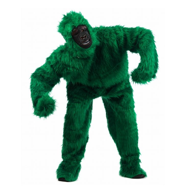 Kostüm Gorilla grün