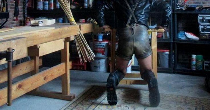 Pin By Lederfan On Geiles Leder Lederhosen Pants Shorts