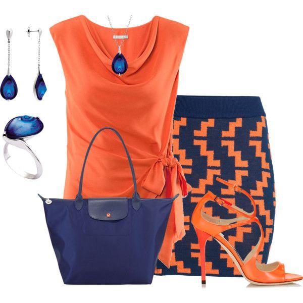 """Orange and Blue"""