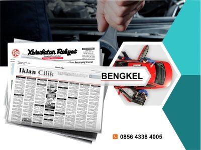 Pasang iklan baris Bengkel di koran Kedaulatan Rakyat Jogja, Kirim Materi Iklan ke 085643384005 (SMS/WA)