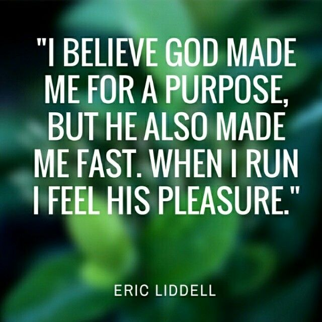 Inspiring words from Olympic gold medalist Eric Liddell. #quote #amwriting HeidiMcCahan.com
