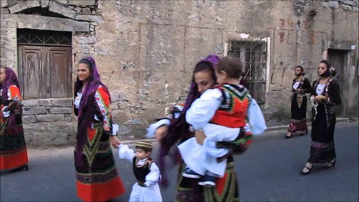 La Madonna del Miracolo: Processione in costume a Bitti (Parte II)