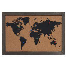 Más de 25 ideas increíbles sobre Mapa del corcho en ...