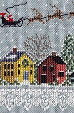 The Victoria Sampler - Christmas Gazebo