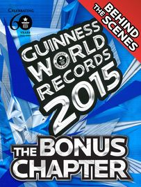 Guinness World Records 2015 Bonus Chapter | http://paperloveanddreams.com/book/918993559/guinness-world-records-2015-bonus-chapter | Discover never-before-seen pictures and untold stories behind some of your favourite record-breakers in the GWR 2015: Bonus Chapter. This eBook goes hand in hand with your Guinness World Records 2015 annual. Meet awe-inspiring people and animals, see how records are set, relive record-breaking FIFA World Cup 2014 moments, and put your GWR knowledge to the test…