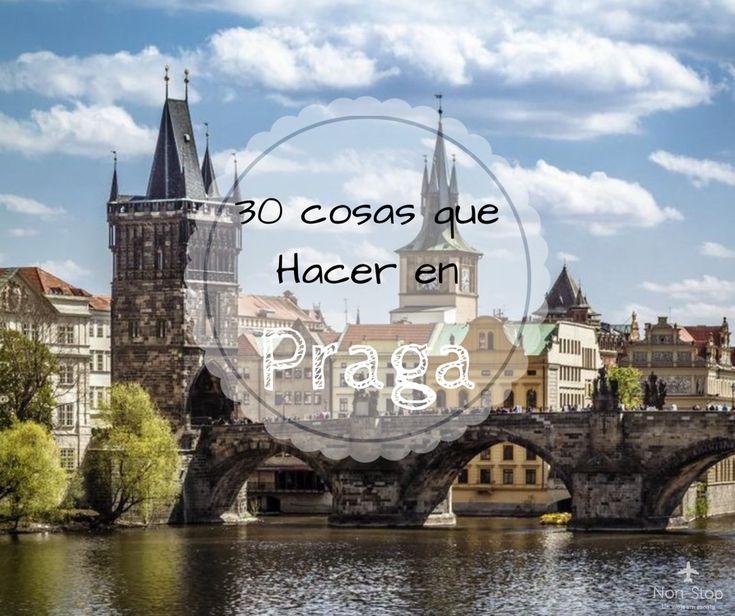 Que ver y hacer en Praga, capital de República Checa
