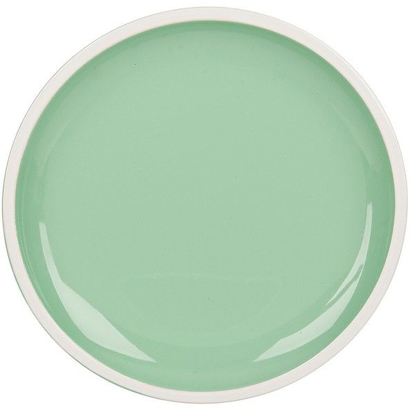 Pastel Green Dinner Plates, Set of 4 ($10) ❤ liked on Polyvore featuring home, kitchen & dining, dinnerware, microwave safe bowl, microwave safe dinner plates, stoneware dinnerware, microwave safe dinnerware and set of 4 dinner plates