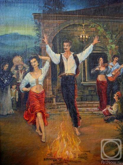 Плотников Александр. Вечеринка на юге Испании