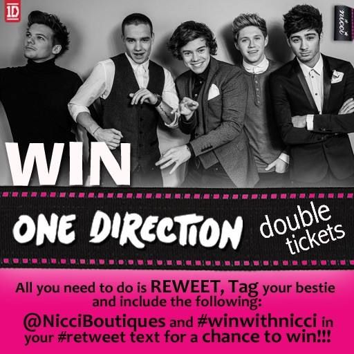 #Nicci and #1D #competition #winning