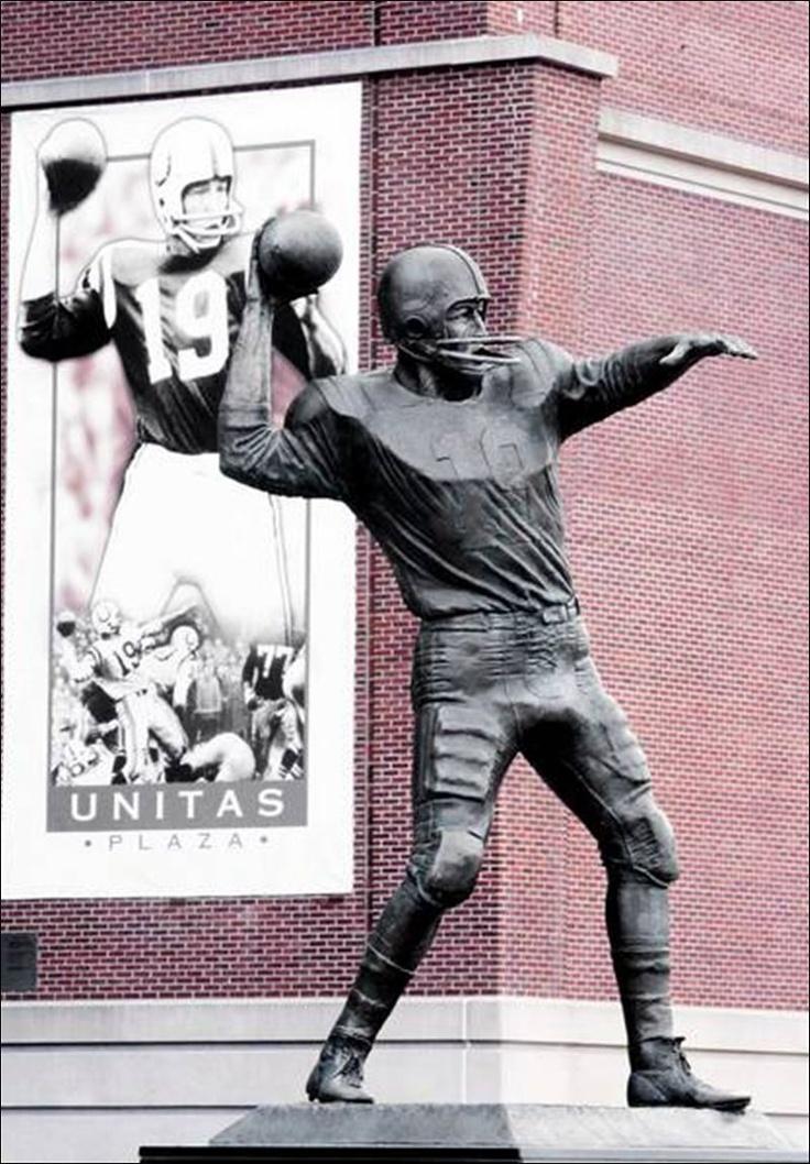 Johnny Unitas Statue in Baltimore