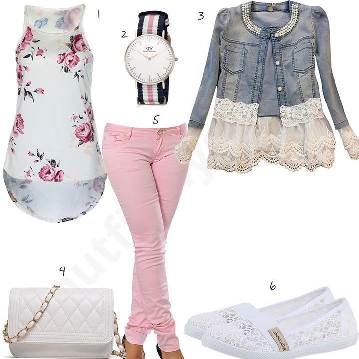 rosafrbene jeansjacken damen