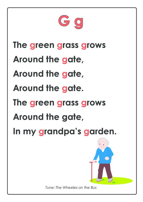 This free and printable letter rhyme is a great catalyst for teaching your child their letters! Once you sing this rhyme a