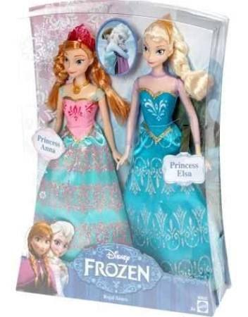 La Reine des Neiges - Coffret duo Anna et Elsa