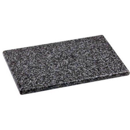 Home Basics 8 inch x 12 inch Granite Cutting Board, Black